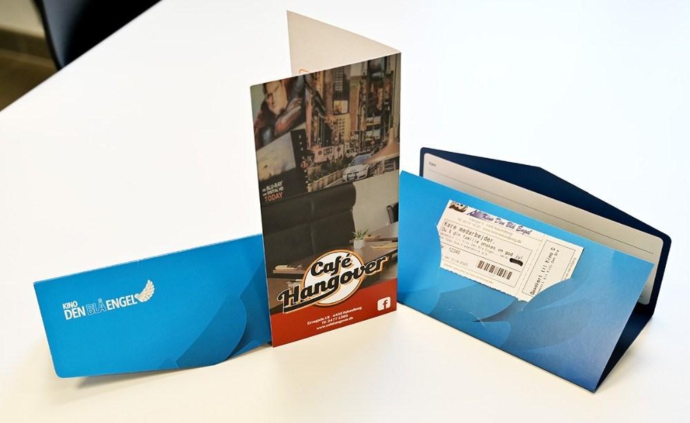 Det lokale firma TODO Overfladeteknik har købt gavekort til Kino Den Blå Engel og Café Hangover. Foto: Jens Nielsen