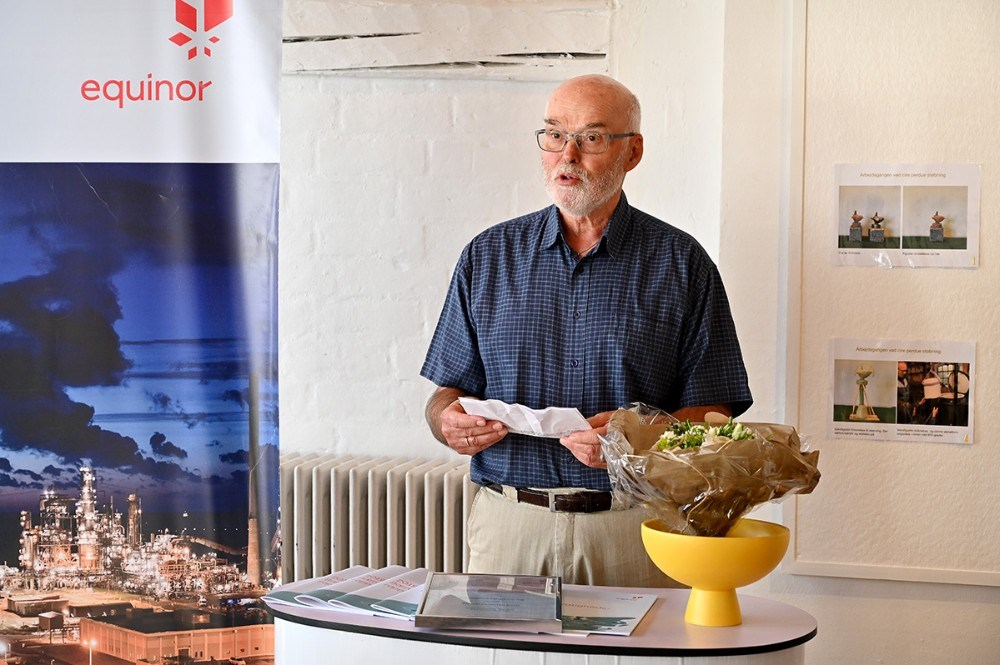 Formand for Kalundborg Kunstforening Peer Lysemose. Foto: Jens Nielsen
