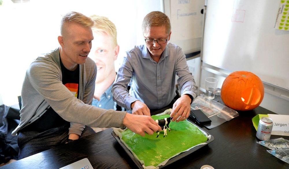 Thomas Hiorth (SF) og Tonny V. Pedersen (Nye Borgerlige). Foto: Jens Nielsen