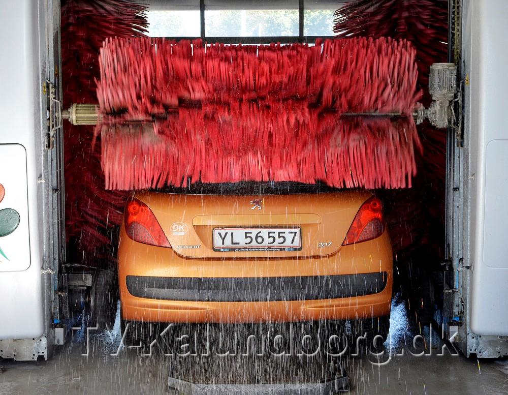 Der er mulighed for at vinde vaskekort i forbindelse med Åbent Hus arrangementet. Foto: Jens Nielsen