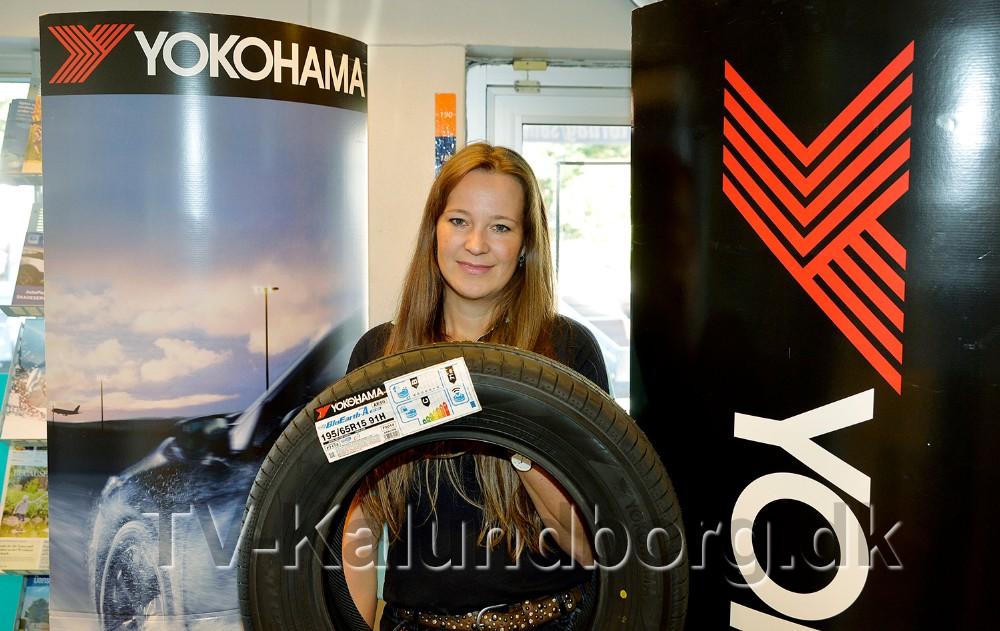 Der er mulighed for at vinde fire Yokohama dæk. Foto: Jens Nielsen