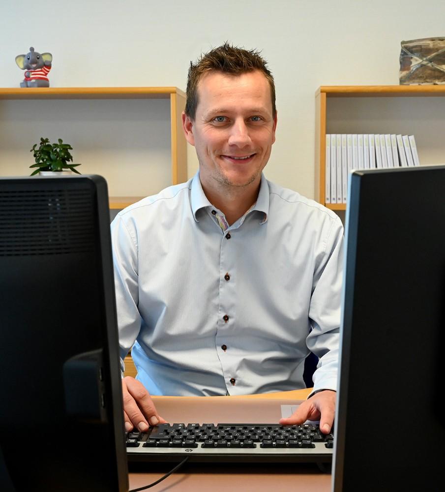 Afdelingsdirektør, Thomas Levy Nielsen. Foto: Jens Nielsen