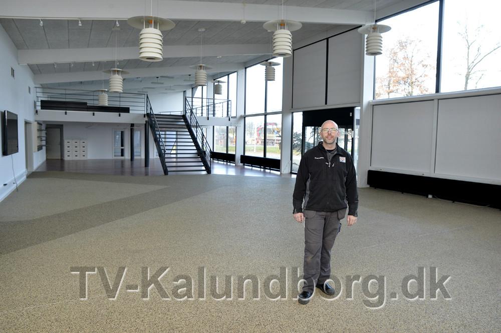 I de store lokaler skal der bl.a. monteres seks lifte. Foto: Jens Nielsen
