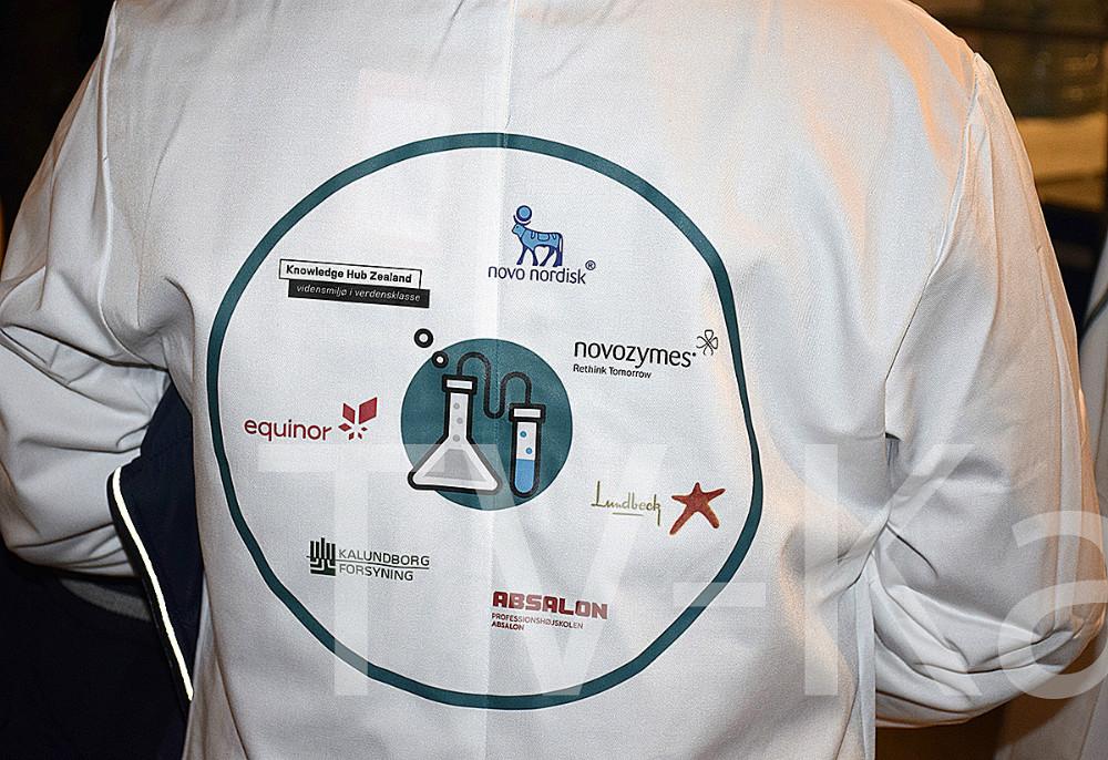 I dag blev der afholdt DM i Biotek i Kalundborg Hallerne, hvor 450 gymnasieelever dystede om titlen.  Foto: Gitte Korsgaard