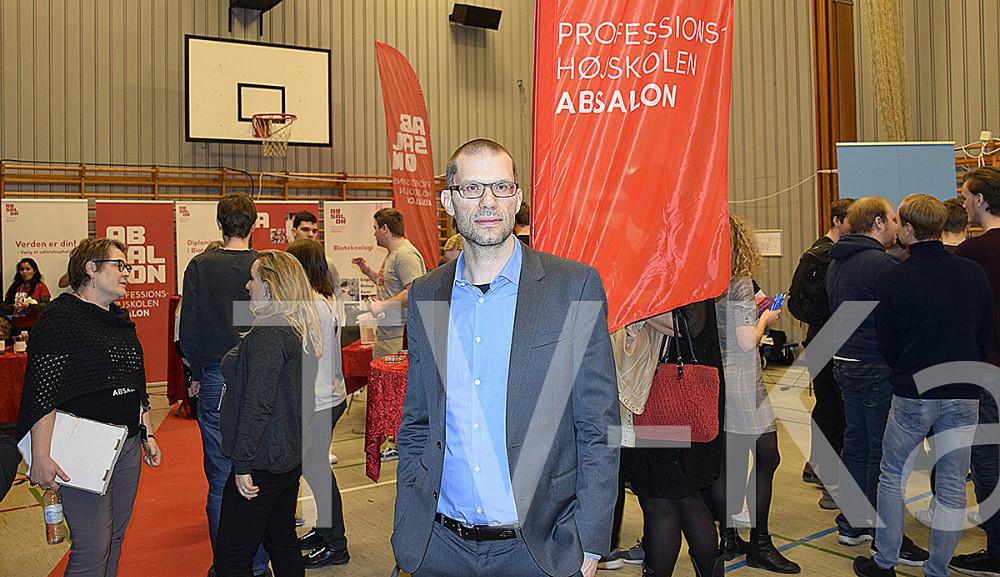 Christian Beenfeldt fra Knowlegde Hub Zealand. Foto: Gitte Korsgaard.