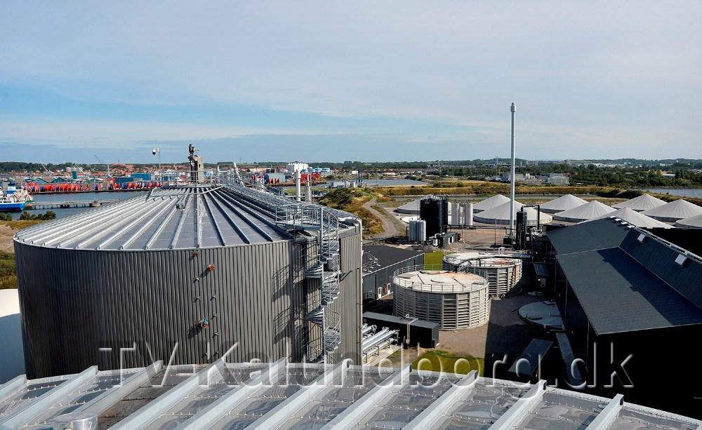 Kalundborg Bioenergi udvider anlægget i Kalundborg. Foto: Jens Nielsen