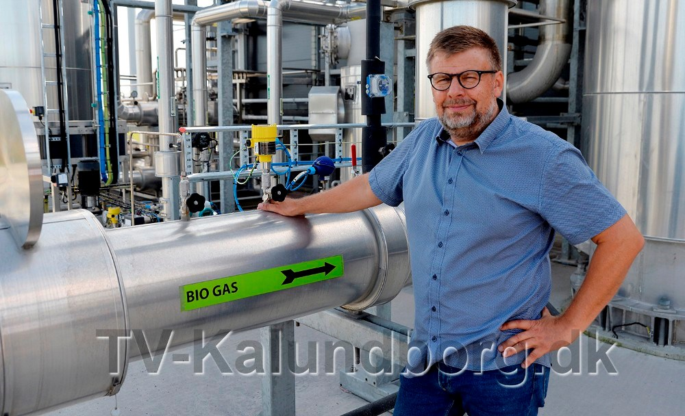 Erik Lundsgaard, direktør hos Kalundborg Bioenergi. Foto: Jens Nielsen