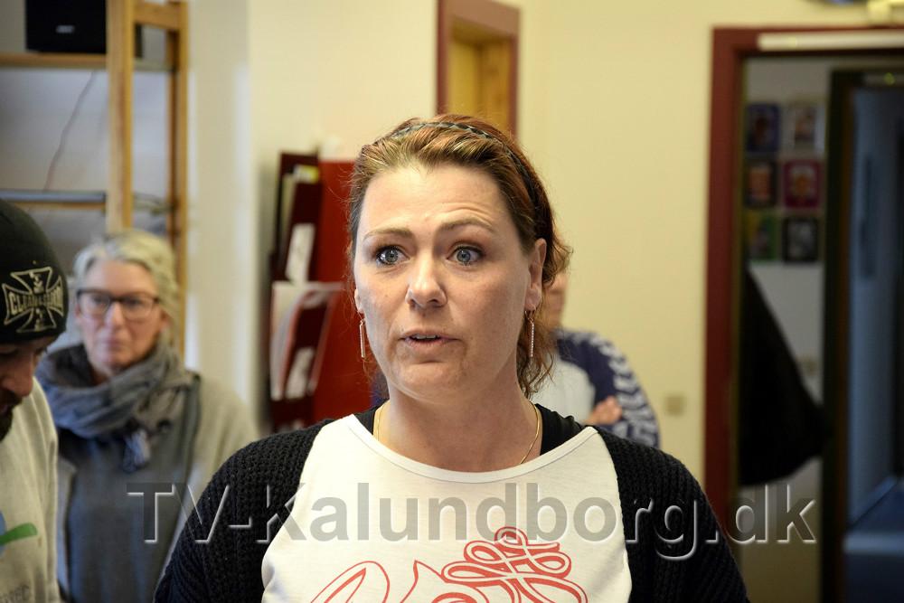 Pia Mølbæk holdt takketale. Foto Jens Nielsen