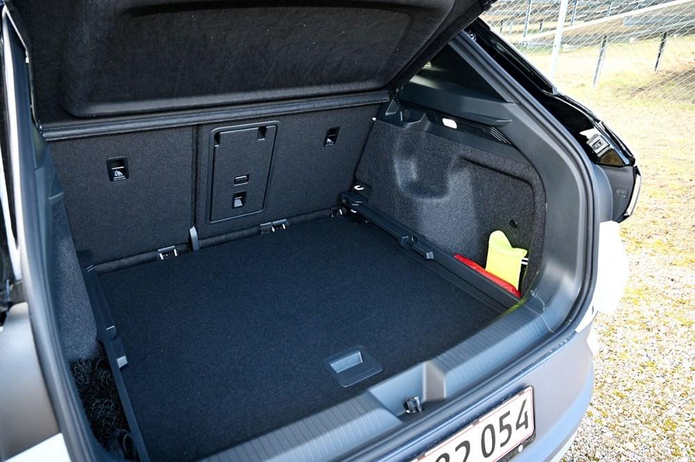 Det store bagagerum i den nye ID.4. Foto: Jens Nielsen