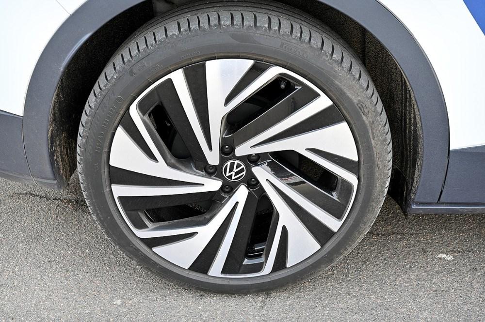 Den viste model har 21 tommer hjul. Foto: Jens Nielsen
