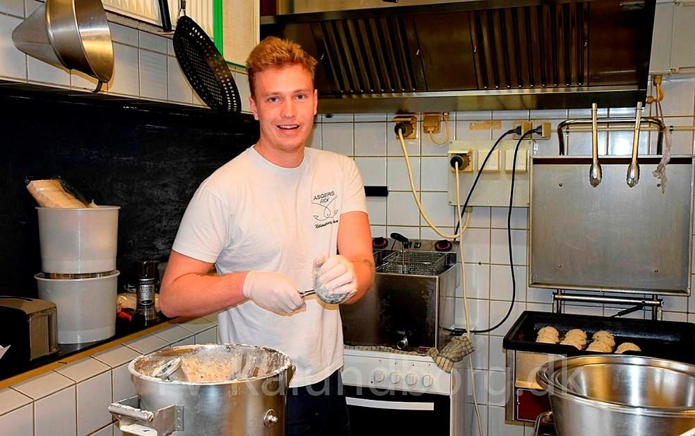 Asger Øgelund er klar til at åbne for udeservering ved Asgers Fisk og på Asgers Bar er ansat enitaliensk Michelin kok. Arkivfoto: Gitte Korsgaard