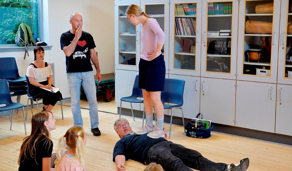 Stærke Adolf måtte bukke under for Pippi. Foto: Jens Nielsen