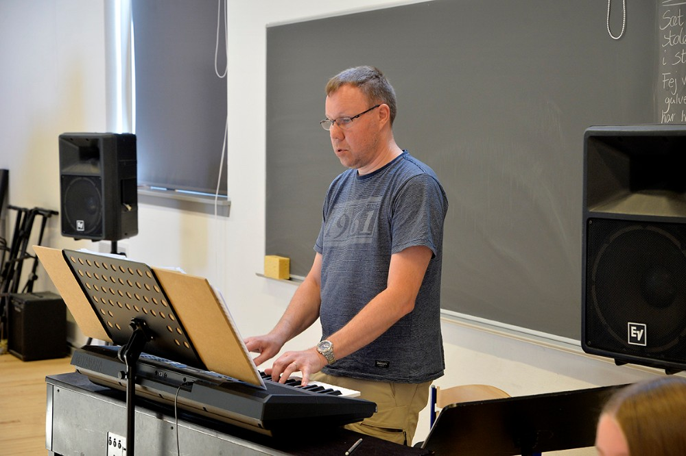 Henrik Kristensen har sagt ja til kapelmester rollen. Foto: Jens Nielsen
