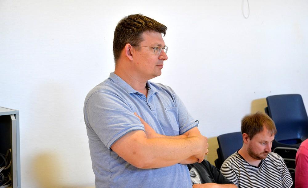 Instruktør Klaus Ødegaard. Foto: Jens Nielsen