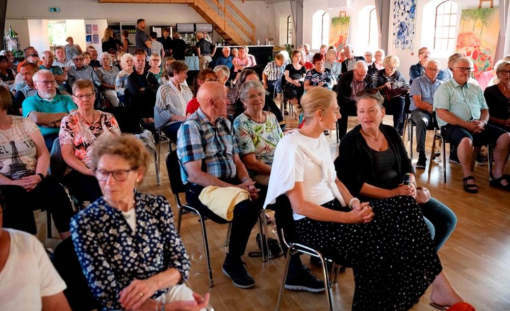 Alle billetter var solgt til foredraget med Rasmus Tantholdt. Foto: Jens Nielsen