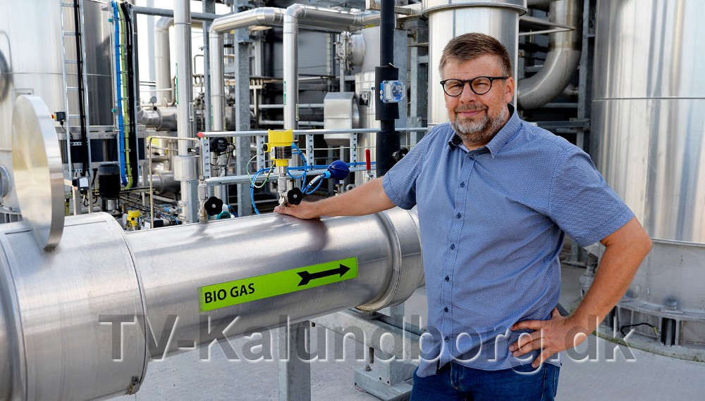 Direktør for Kalundborg Bioenergi, Erik Lundsgaard. Foto: Jens Nielsen.