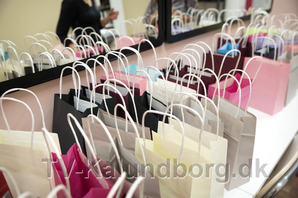 Der var goodiebags til gæsterne. Foto: Jens Nielsen