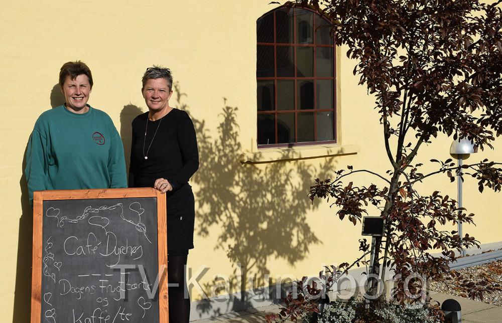 Bettina Newberry og Tina Thrysøe. Foto: Gitte Korsgaard