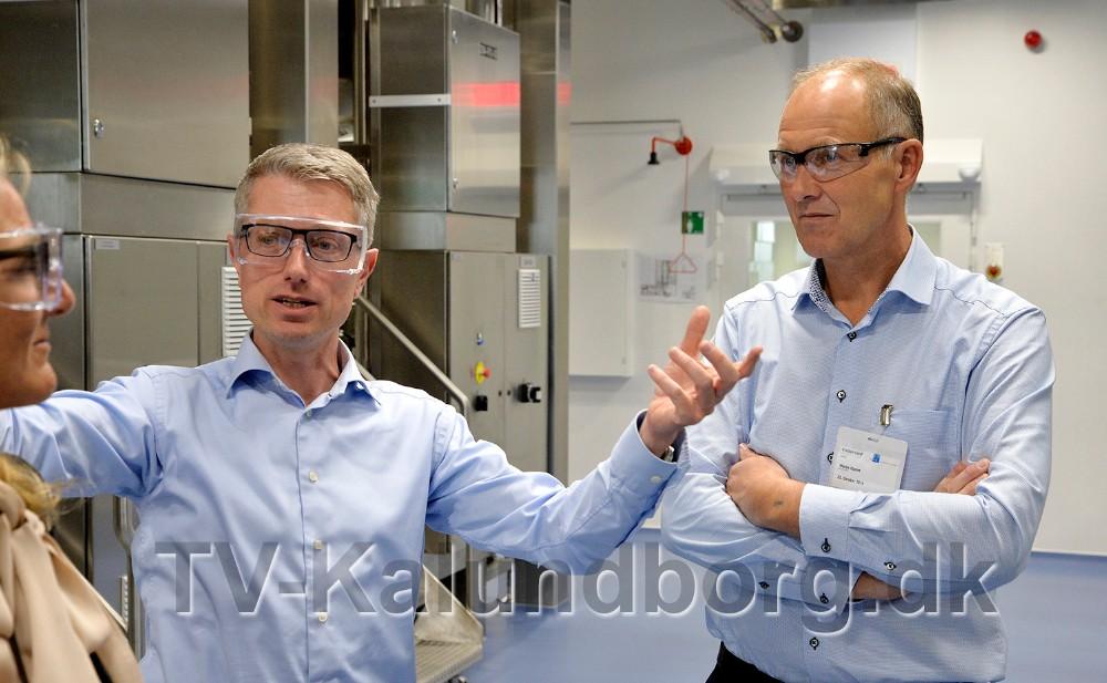 Jan Hoff sammen med Martin Damm. Foto: Jens Nielsen