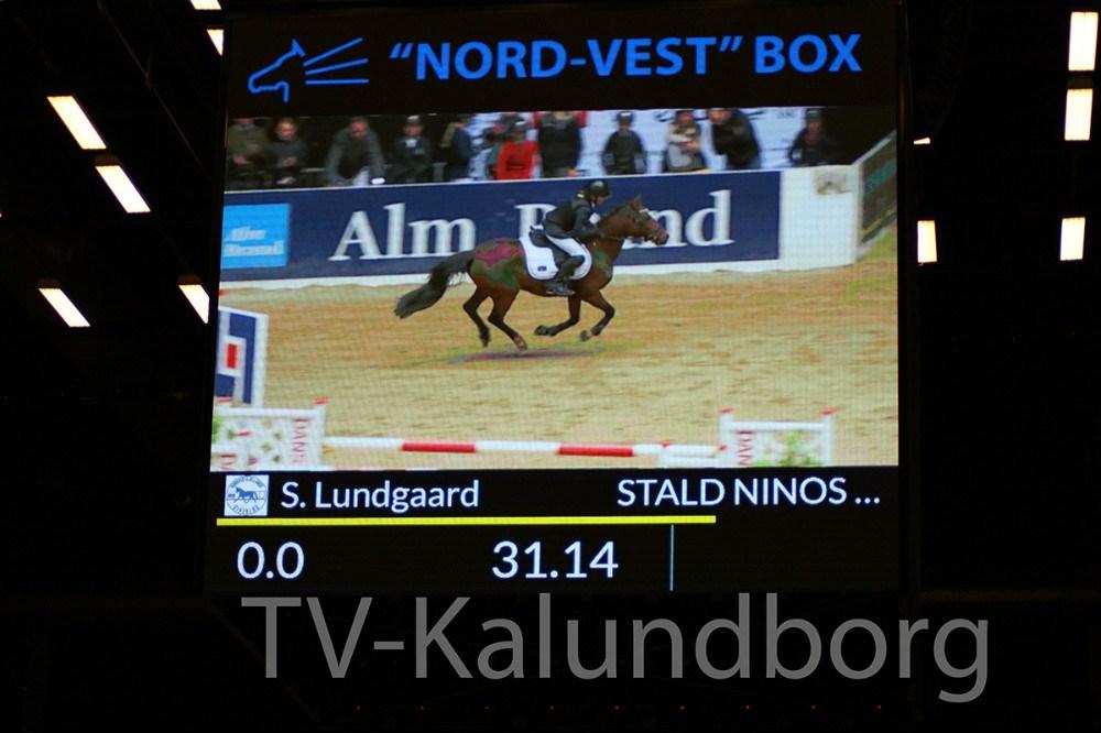 Sille Lundgaard og Miss Diva red i fredags til World Cup i Herning, hvor de fik en flot 2. plads i Nord-Vest Box Cup i Jyske Bank Boxen.