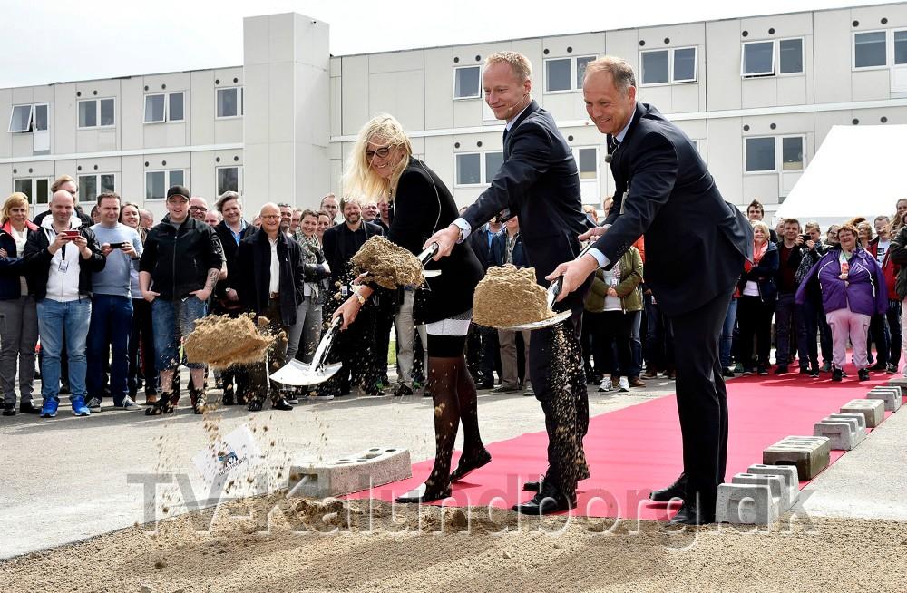 Borgmester Martin Damm var med til at tage første spadestik tilbage i 2015. Foto: Jens Nielsen