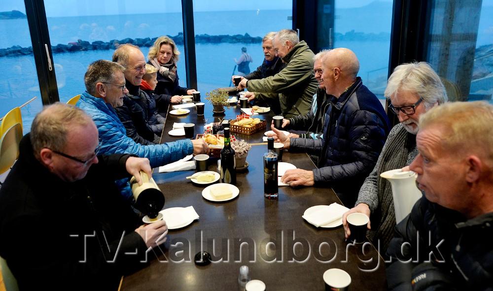 Der var vam kaffe til deltagerne. Foto: Jens Nielsen