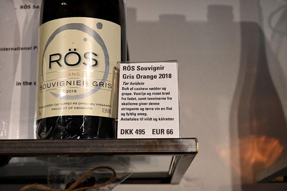 Flere af vingårdens vine har igen vundet præmier. Foto: Jens Nielsen