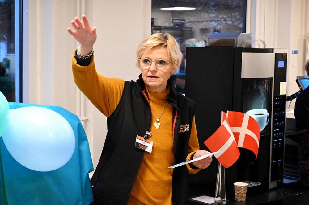 Biblioteksleder ved Kalundborg Biblioteker, Jette Mygind. Foto: Jens Nielsen