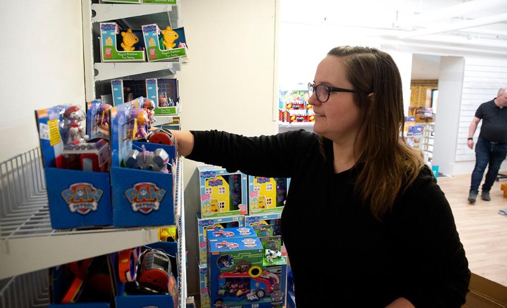 Lotte Høgsted bliver daglig leder af Thranes Legetøj. Foto: Jens Nielsen