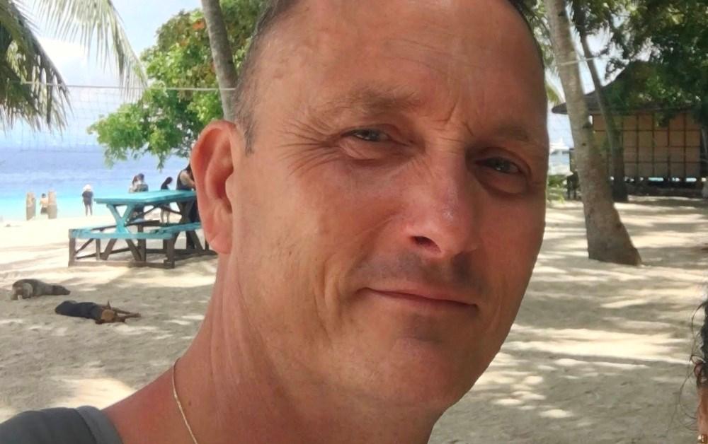 Bob Arup fra Ubby er strandet påFilippinerne og har ingen udsigt til hvornår han kan komme hjem. Privatfoto