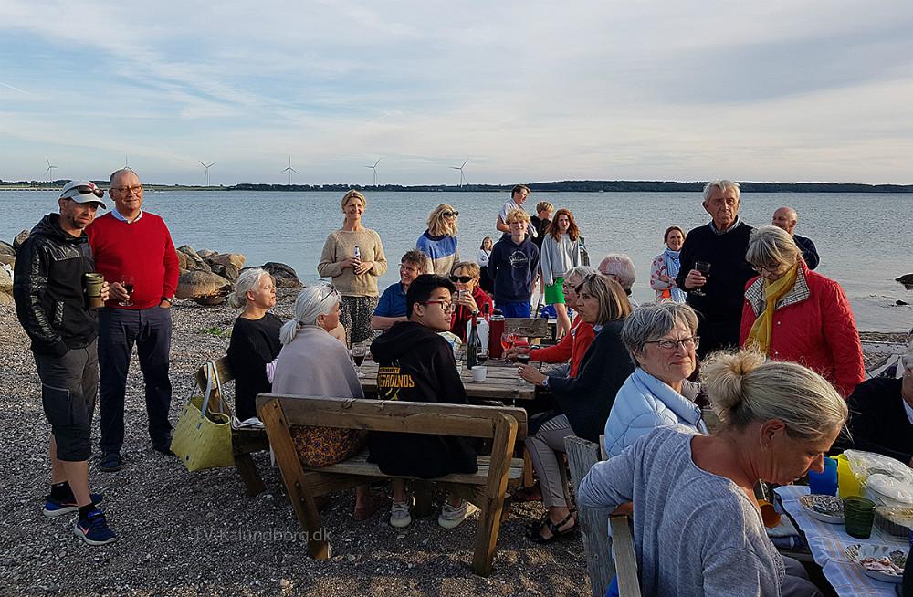 Nyt lille Skt. Hans arrangement i Kalundborg. Privatfoto.