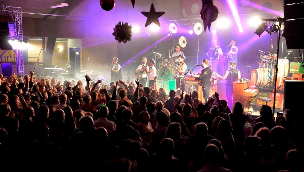 Sømændene er igen hovednavnet når Fuglede IF inviterer til julefrokost i Hvidebækhallen. Foto: Jens Nielsen