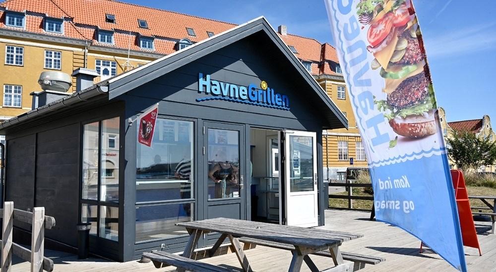 Havnegrillen på havnen i Kalundborg. Arkivfoto: Jens Nielsen.