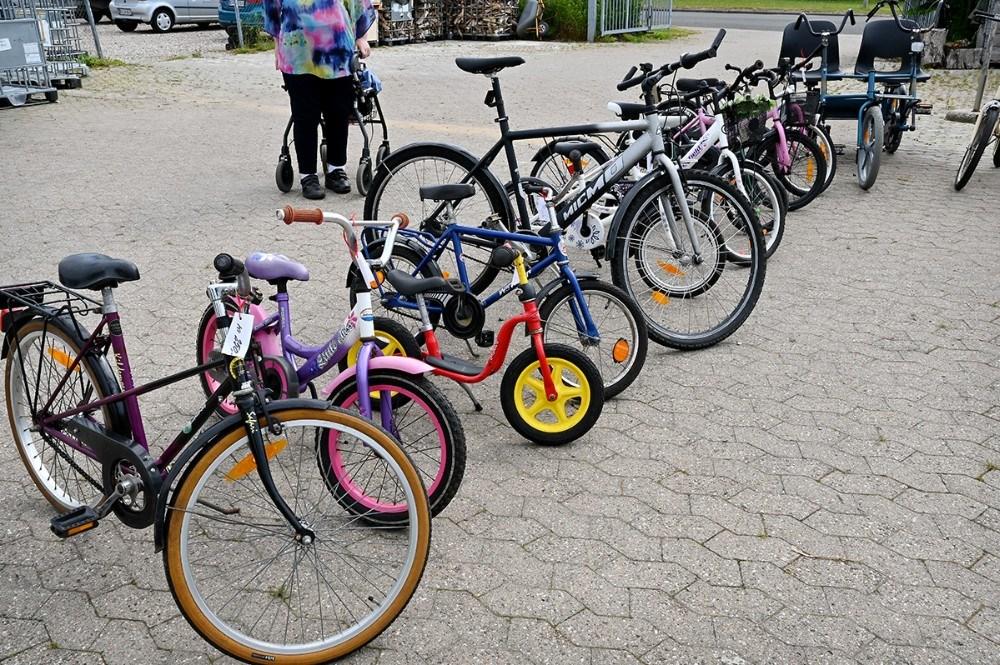 Der er masser af brugte cykler til salg. Foto: Jens Nielsen