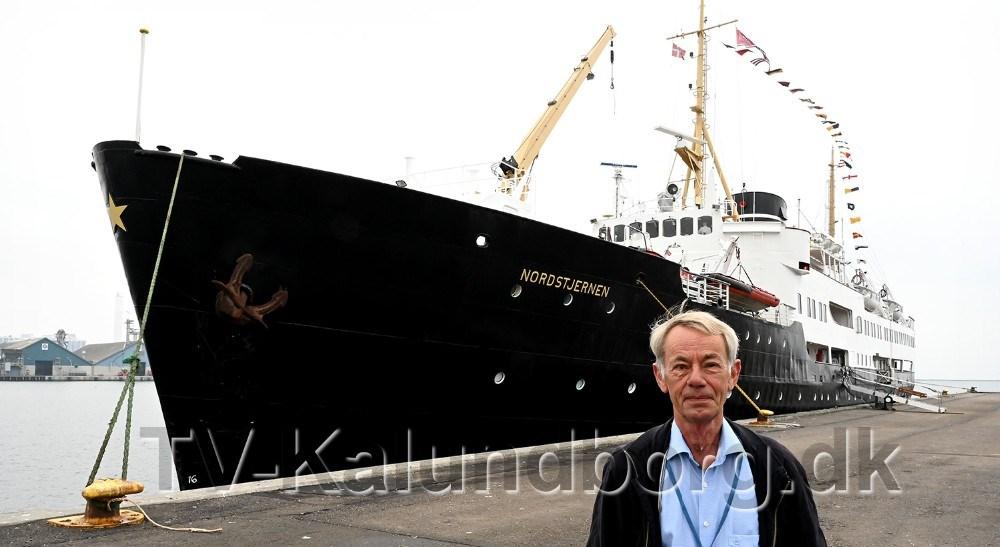 Keld Jensen fik et glædeligt gensyn med M/S Nordstjernen. Foto: Jens Nielsen