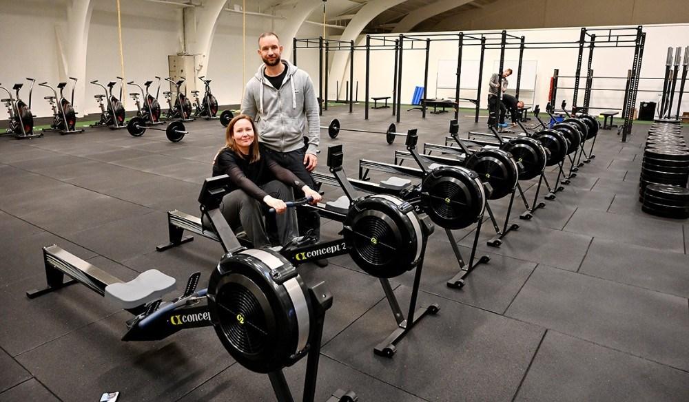 Shannie og Michael da Silvaåbner CrossFit Kalundborg og Yogastudio nu på søndag. Foto: Jens Nielsen