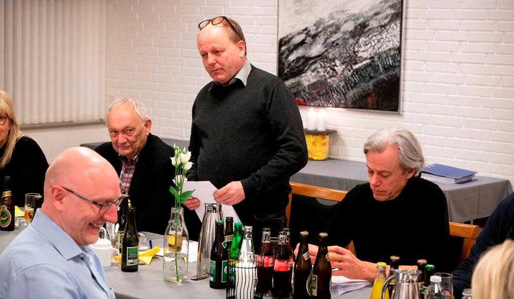 Formand Steffen Olsen. Foto: Jens Nielsen