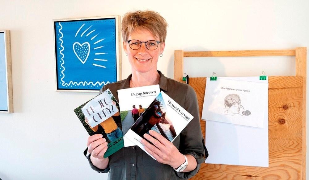 Teenagecoach Grethe Lindbjerg Sørensen har tidligere udgiver bøger om unges problemer. Arkivfoto: Jens Nielsen