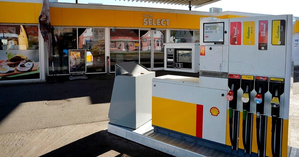 Tankanlæg og de to vaskehaller på Shell Sct. Jørgensbjerg i Kalundborg åbner igen inden for 14 dage. Foto: Jens Nielsen