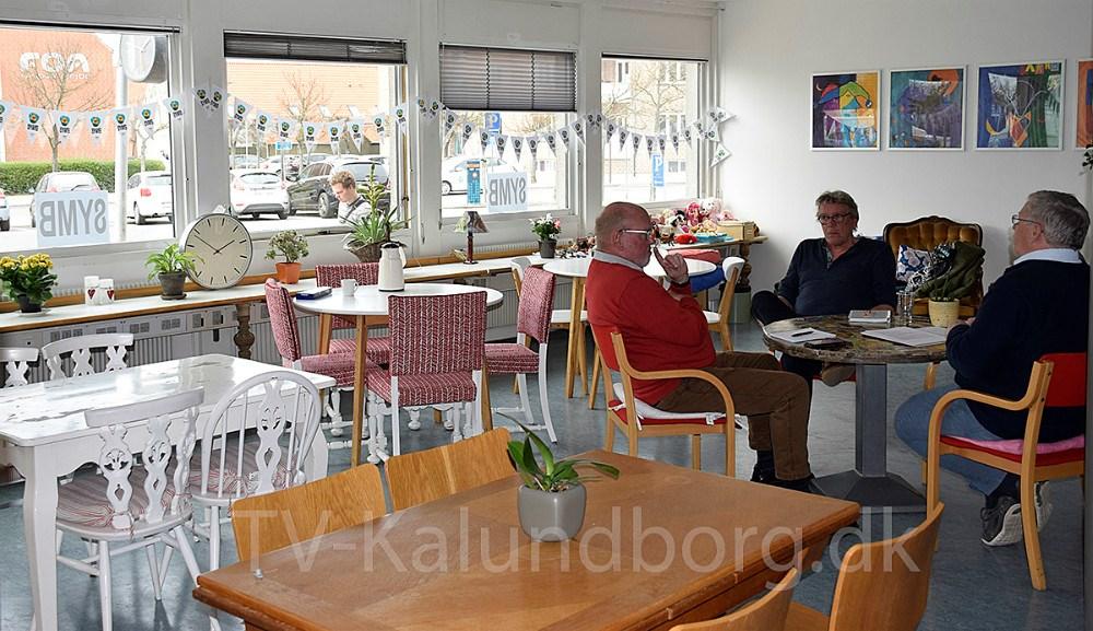 Møde i SYMBs lokaler. Foto: Gitte Korsgaard.