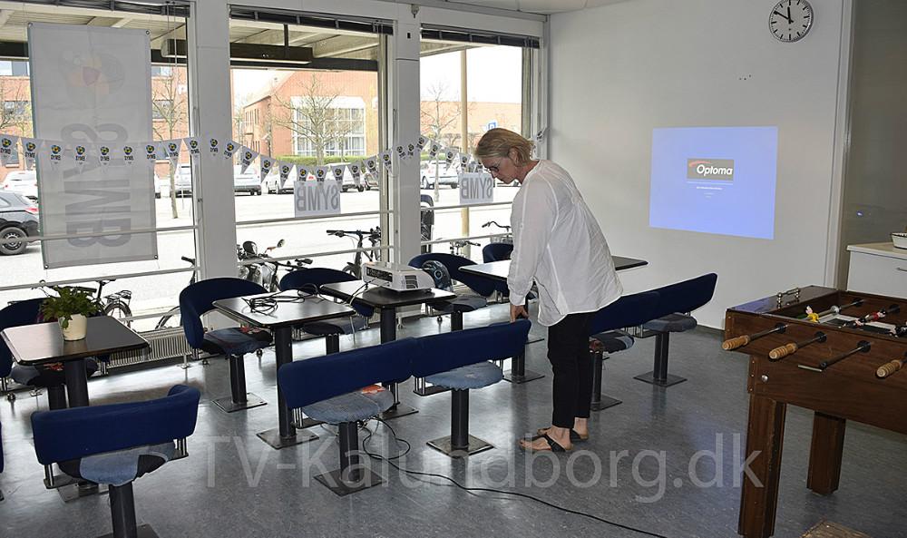 SYMBS nye lokaler på den gamle station i Kalundborg. Foto: Gitte Korsgaard.