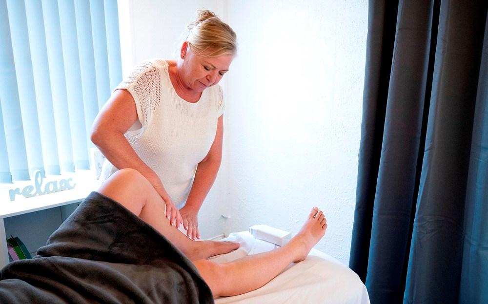 New-Life tilbyder også kosmetisk massage og voksbehandlinger. Foto: Jens Nielsen