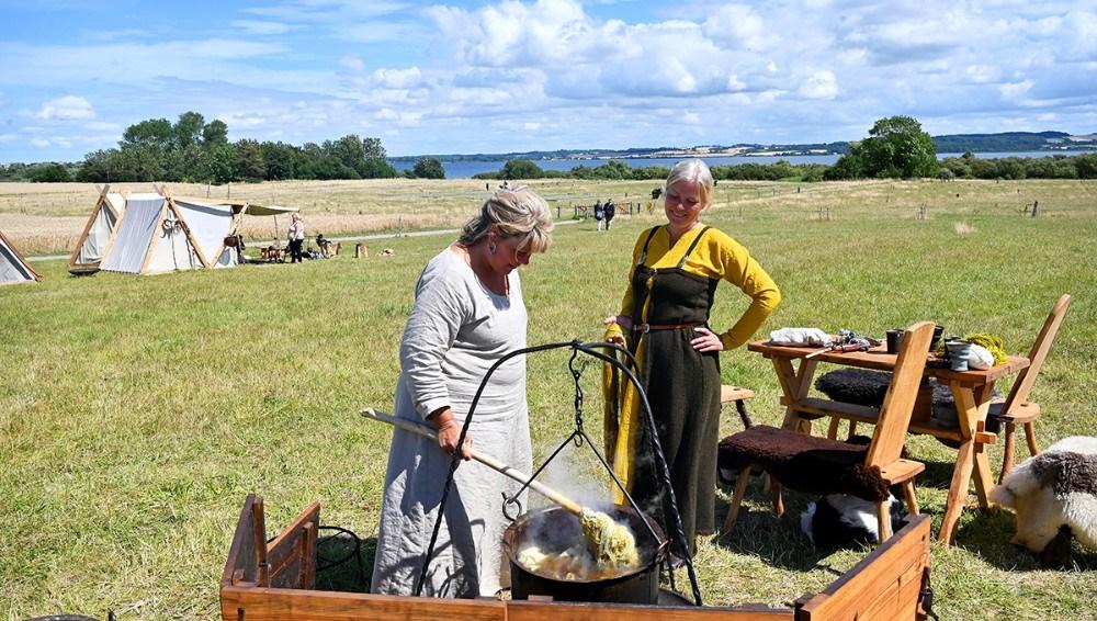 Der er gang i plantefarning ved Tissø hele denne weekend. Foto: Jens Nielsen
