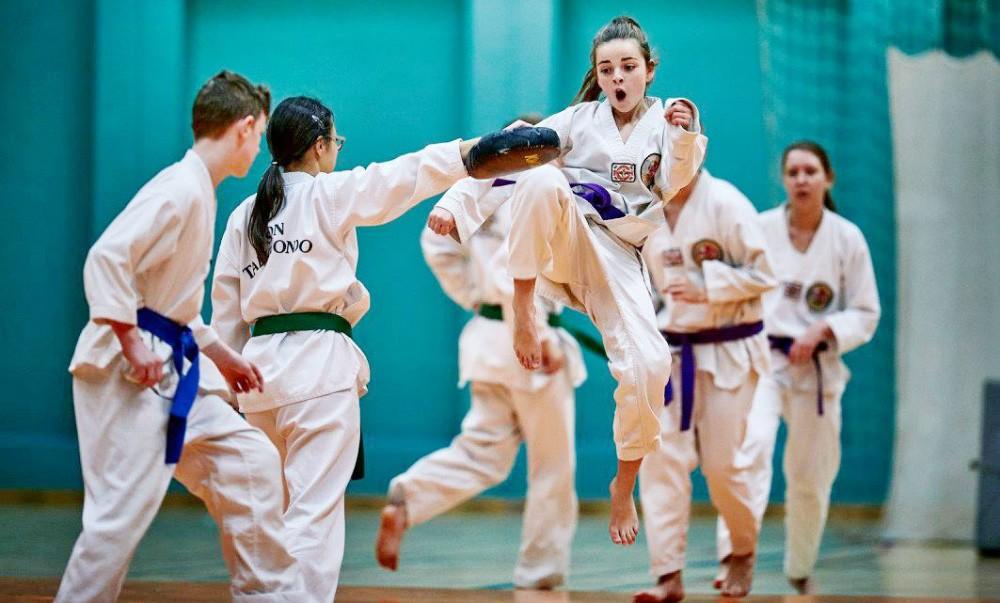 Oplev SonTaekwondo i Rynkevanghallen nu på tirsdag. Privatfoto