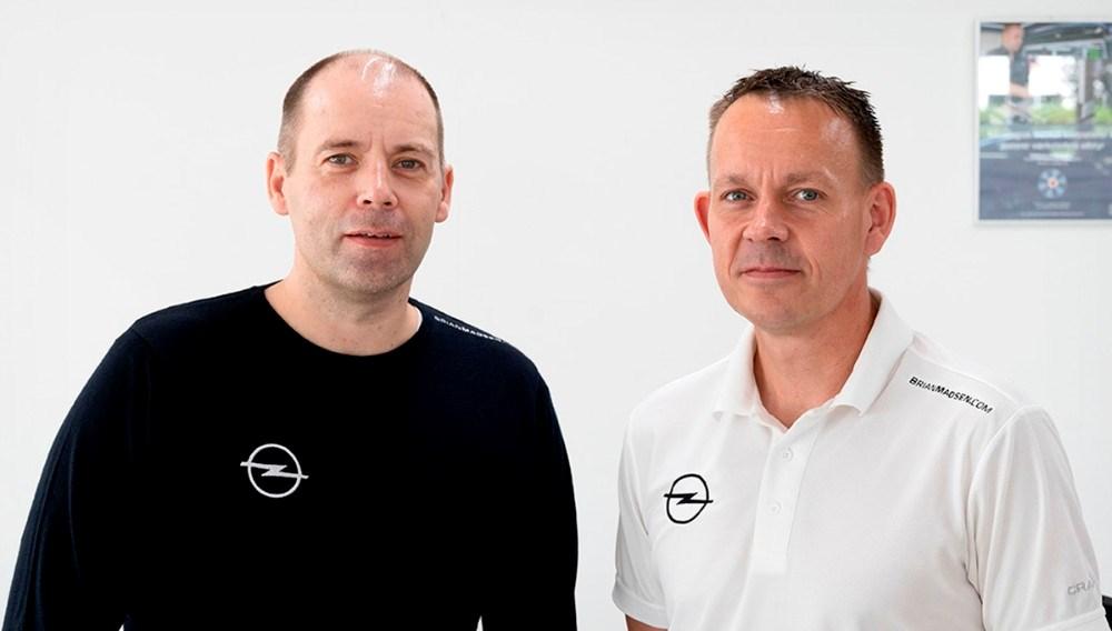 salgschef Lars Tychsen og værkfører Michael Larsen inviterer til åbningsfest i den kommende weekend. Foto: Jens Nielsen