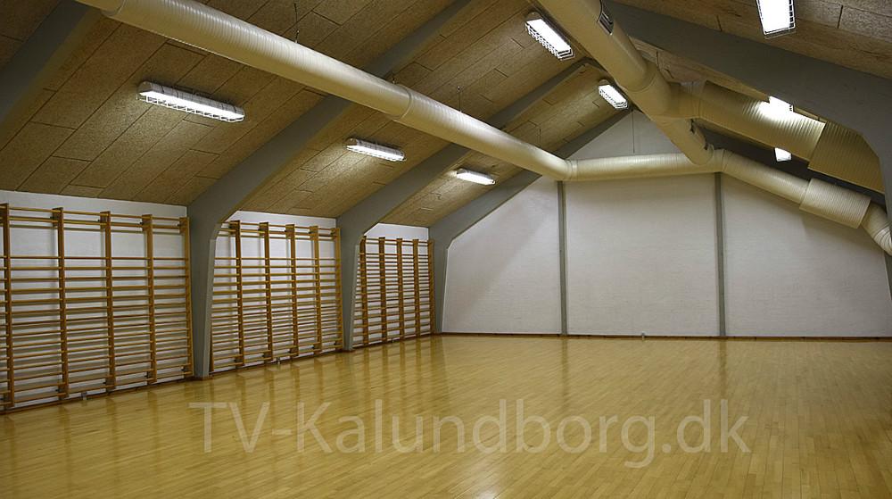Lørdag den 5. oktober er der åbent hus i Røsnæshallen i anledning af hallens 50 års jubilæum. Foto: Gitte Korsgaard.