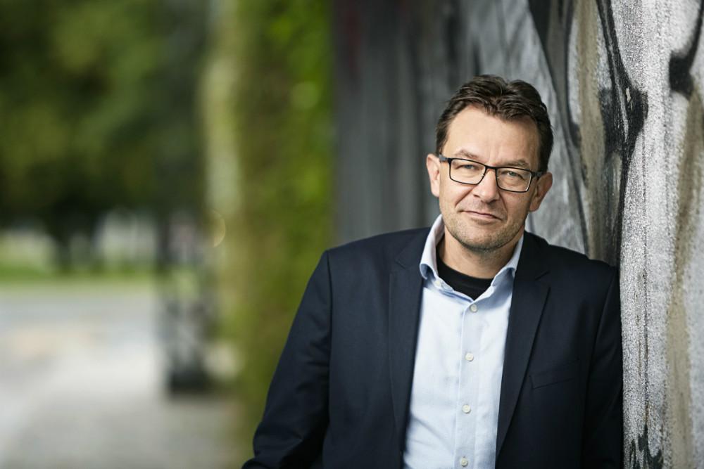 Torsdag aften var der foredrag med Jeppe Søe på Kalundborg Friskole.