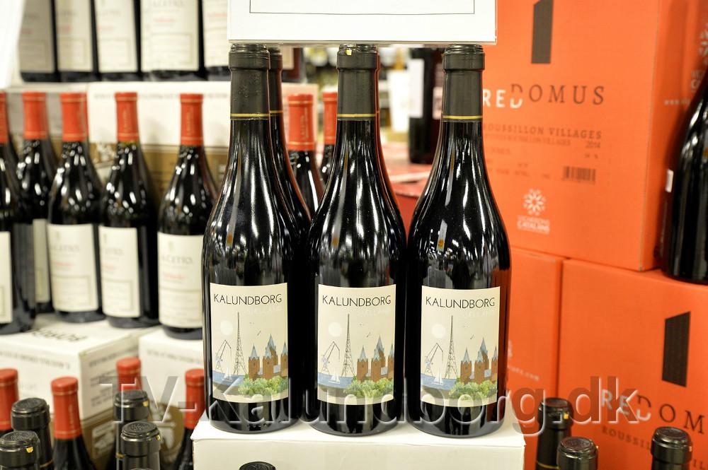 Den Nye Kalundborg vin er klar til salg. Foto: Jens Nielsen