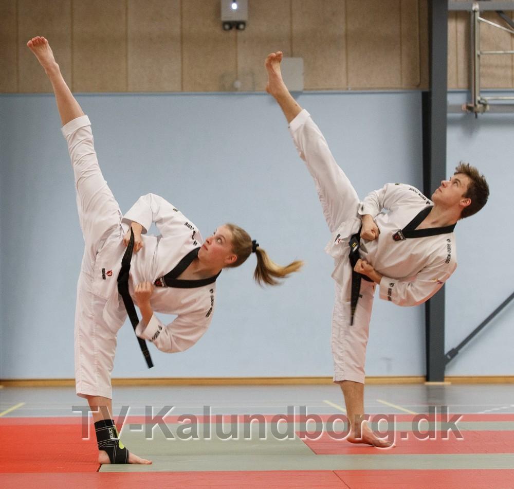Igen i år var Kalundborg Son Taekwondo vært for årets påskelejr. Privatfoto