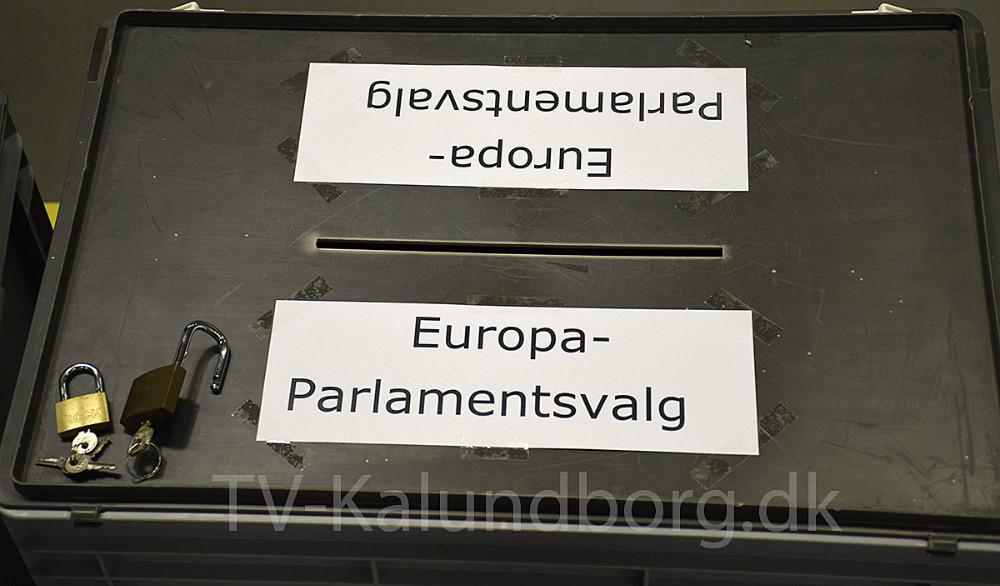 Der er klar til valg. Foto: Gitte Korsgaard.